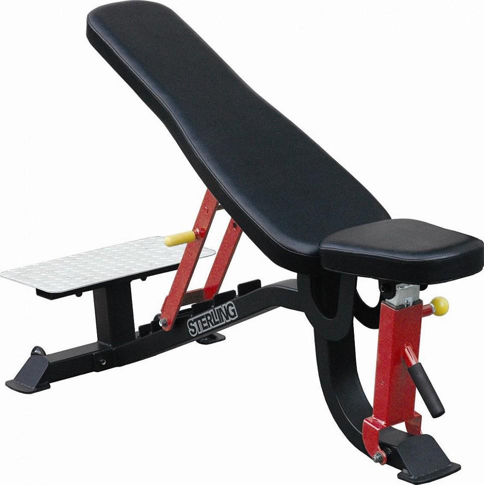 Усиленная многопозиционная скамья с платформой для страхующего AeroFIT Sterling SL7012