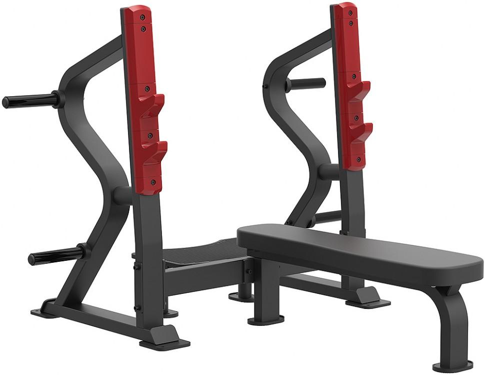 Олимпийская горизонтальная скамья для жима AeroFIT Sterling SL7028