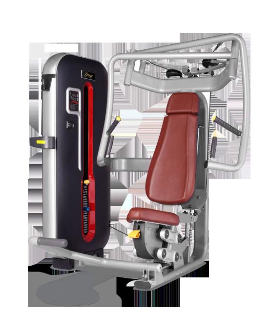 Грузоблочный тренажер Жим от груди Bronze Gym MT-001 C