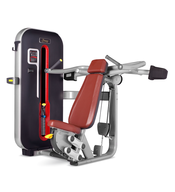 Грузоблочный тренажер Жим от плеч Bronze Gym MT-003 C