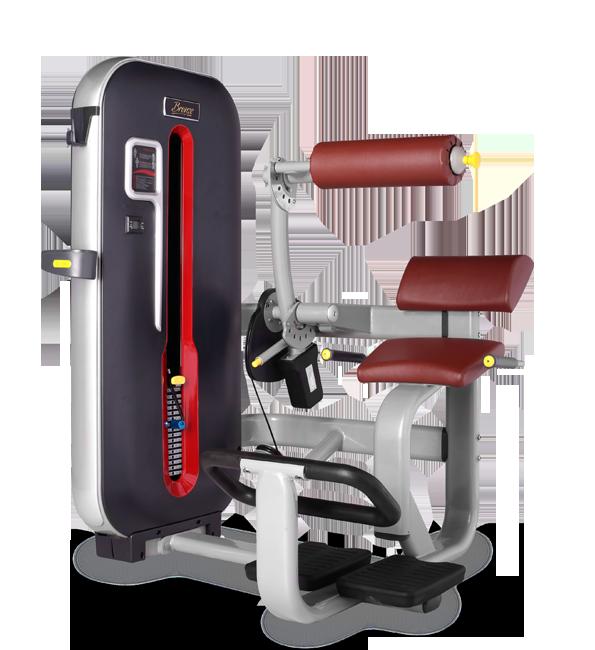 Грузоблочный тренажер Разгибание спины Bronze Gym MT-009 C
