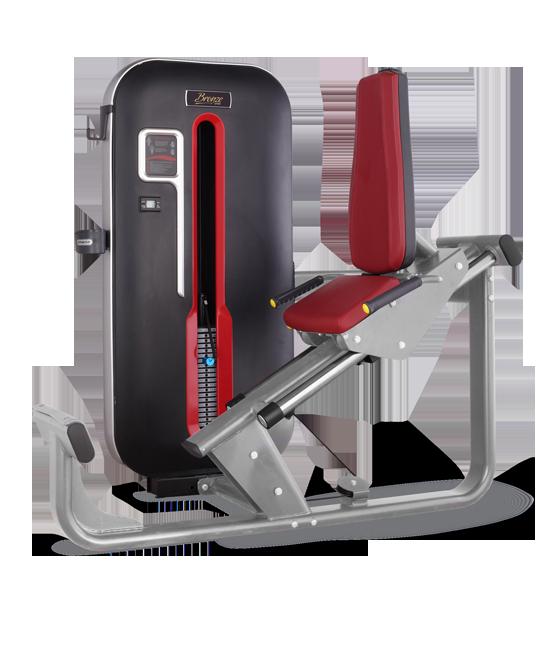 Грузоблочный тренажер Жим ногами Bronze Gym MT-017 C