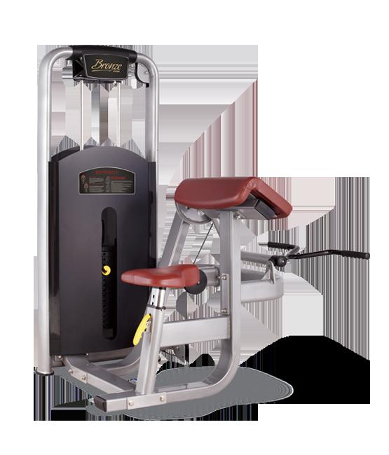 Грузоблочный тренажер Бицепс-машина Bronze Gym MV-006