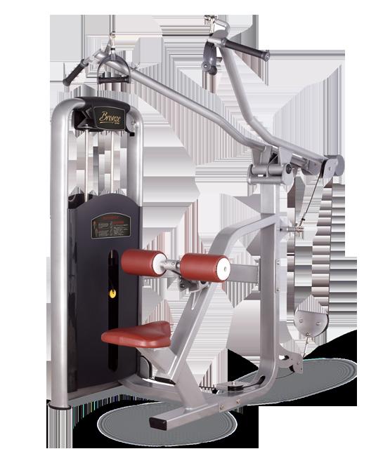 Грузоблочный тренажер Верхняя тяга Bronze Gym MV-012