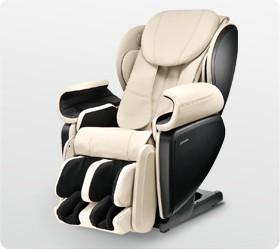 Массажное кресло JOHNSON MC-J6800 (MC-J6800_IVORY)