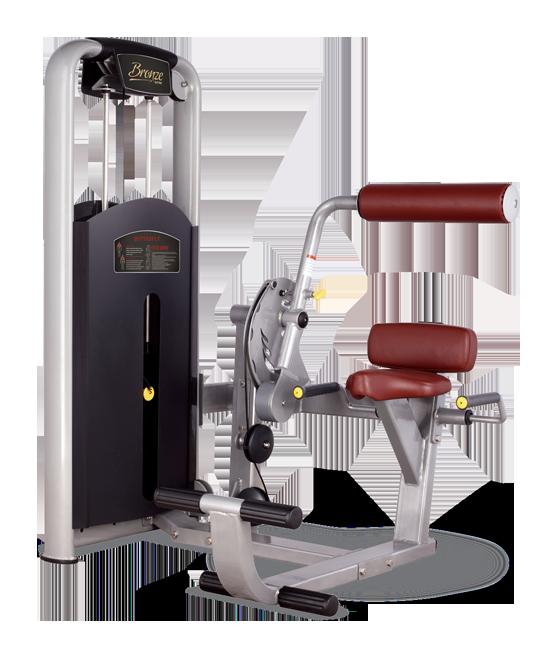 Грузоблочный тренажер Разгибание спины Bronze Gym MV-009