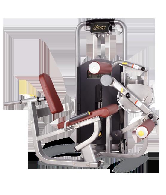 Грузоблочный тренажер Сгибание ног сидя Bronze Gym MV-013